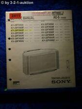 Sony Service Manual KV 28FX60D /A /B /E /K /R /U /32FX60D (#2411)