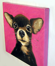 POP Art Dog Painting Chihuahua Canvas Giclee Print