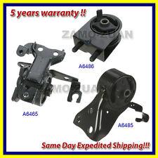 99-03 Mazda Protege 1.8/2.0L Engine Motor & Trans Mount Set 3PCS w/ Manual Trans