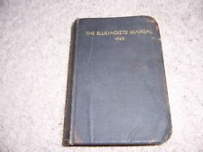 THE BLUEJACKETS' MANUAL - 1943