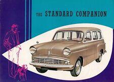Standard Ten 10 Companion 1959-61 UK Market Foldout Sales Brochure