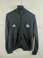 Hamburg Adidas Football Tracksuit Jacket Black Men's Medium