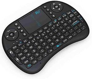 Rii Mini i8 2.4GHz Multi-media Portable Wireless Mini Keyboard W/Touchpad Mouse