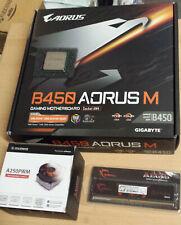Aufrüstkit Bundle AMD Ryzen 5 3600 AM4, Gigabyte MB B450 u. 8 GB DDR4 G.Skill