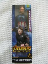 CAPTAIN AMERICA Action Figure Marvel Avengers Infinity War Power FX 12 Inch Toy