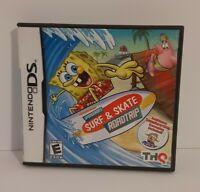 SpongeBob's Surf & Skate Roadtrip (Nintendo DS, 2011)