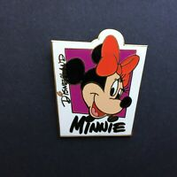 DLR - Colorful Box Characters - Minnie Mouse Disney Pin 46243