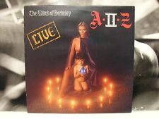 A-II-Z - THE WITCH OF BERKELEY -LIVE LP NEAR MINT UK 1980 POLYDOR 2383587 A II Z