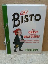 NOSTALGIC ROBERT OPIE BISTO ADVERTISING RECIPE SAVER/ORGANISER. COOK'S GIFT