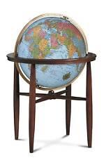 Replogle Finley Illuminated Floor Globe - Blue Ocean - 20 Inch