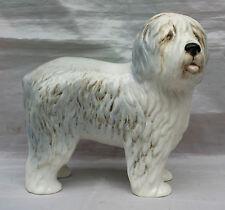 Vintage Sylvac Porcelain Figure of an Old English Bobtailed Sheepdog Dulux Dog