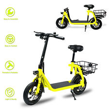 Electric Bike Portable Bicycle 350W Motor Lithium Battery EBike Outdoors