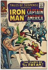 TALES OF SUSPENSE #75, MARVEL 1966, FN+ CONDITION, RK COLLECTION, 1ST AGENT 13