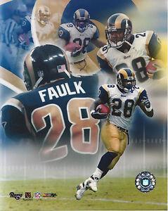 Marshall Faulk #1 8x10 Unsigned Photo St. Louis Rams