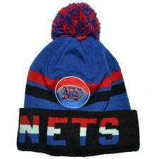 NEW YORK NETS MITCHELL & NESS NBA POM POM BEANIE