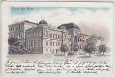 AK Wien I, Universität, 1900