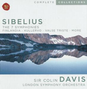 SIBELIUS THE 7 SYMPHONIES - SIR COLIN DAVIS & LSO - 7CD BOX SET - FREE UK POST
