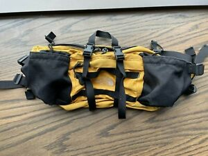 Vintage 90s The North Face Unisex Lumbar Mountain Fanny Pack YELLOW