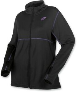 Arctiva Womens Snowmobile Mid Weight Fleece Black XL