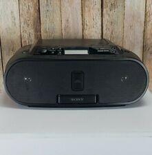 Sony Zs-S2iP Cd-Player Am-Fm Radio iPod Dock Stereo Boombox Cd-R Rw Playback