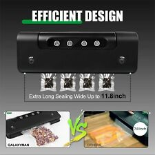 110V Automatic Vacuum Sealer Food Packing Machine Vacuum Food Bags+ Storage Bag