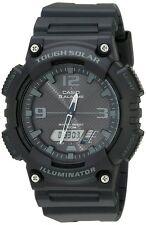 Casio AQS810W-1A2 Tough Solar Analog Digital Sports Watch 5 Alarms BLACK 100M