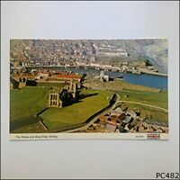 The Abbey and West Side Whitby 1984 Postcard (P482)
