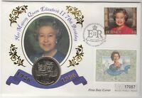 1996 Queen Elizabeth II £5 Coin FDC 70th Birthday***Collectors***