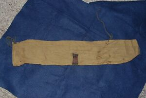 Vintage Winchester Fishing Rod Cloth Sleeve Bamboo ?