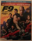 F9 The Fast Saga (Blu-ray + DVD + Digital + Slipcover, Brand New & Sealed)