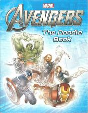 The Doodle Book AVENGERS Activity MARVEL New SUPER HEROES Draw PUZZLES Games ART