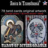 Tarot card cards deck set minor major arcana rare vintage oracle kit book guide