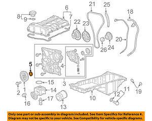 GM OEM-Engine Crankshaft Crank Seal 89017622