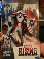 Marvel Rising Secret Warriors PATRIOT Rayshaun Lucas Action Figure Boy Doll New