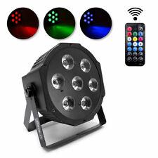 U'King 7 LED Bühnenlicht RGBW Par Licht DMX Fernbedienung Party Disco DJ  Light