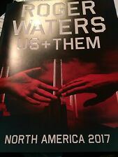 Roger Waters Us And Them North America 2017 Book