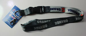 aminco Syracuse Orangemen Clip Lanyard Keychain Id Ticket Holder NCAA Orange