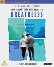 Breathless (UK IMPORT) BLU-RAY NEW