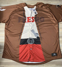 Fresno Grizzlies Star Wars Jersey 2019 Men's Size 2XL Nationals Authentic NWT!