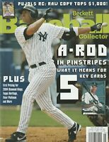 May 2004 Beckett Baseball Magazine New York Yankees Alex Rodriguez on the Cover