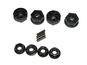 Redcat Earthquake 3.5 4x4 1:8 Truck Serrated Wheel Nuts Wheel Hexes & Drive Pins