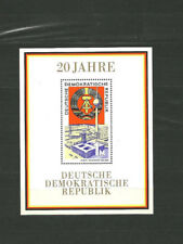 DDR 1969 Kunst   Block 20 Jahre DDR  ungestempelt