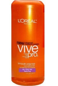 1 L'OREAL VIVE PRO SMOOTH INTENSE DRY FRIZZY FINE HAIR CONDITIONER FREE SHIPPING