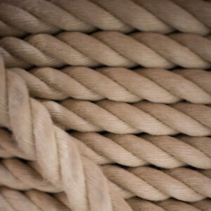 Rope Synthetic Hemp Hempex Decking Garden Decorative Boating Rope FREE DELIVERY