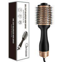 Hot Air Brush Hair  Brush Hair Dryer Styler Three Gears Mode Hot Air Hairdryer