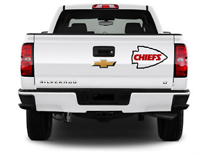 Kansas City Chiefs Logo Sticker For Cars, Trucks, windows and Coolers
