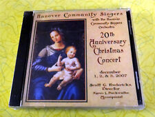 Hanover Community Singers ~ New Music CD ~ Christmas Concert Holiday Orchestra