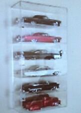USA- NASCAR Diecast Display Case  6 Compartment 1/24 Scale, Other sizes Avail