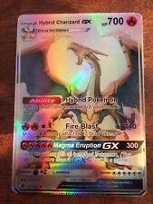 LEGGI LA DESCRIZIONE M CHARIZARD GX EX Mega Full Art Shiny HYBRID Pokemon