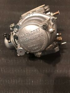 Mercedes BENZ /BMW 2002/E12/E21 150/175 CDET STROMBERG CARBURETOR , NOS